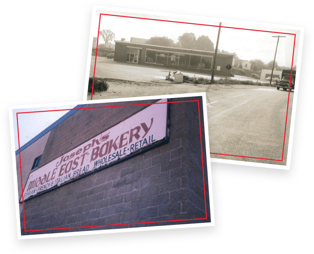 Some old photos of Joseph's Bakery.
